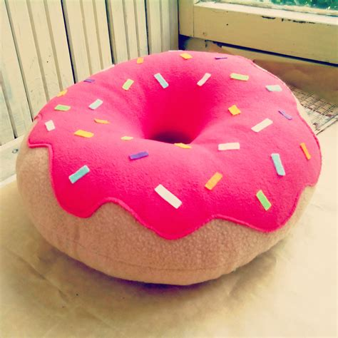 Donut Pillow Diy by Donut Pillow Designer Pillow Decorative Pillow Home