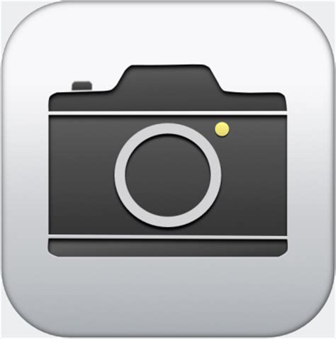 ios7 camera icon | isource