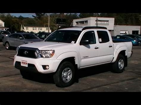 2013 toyota tacoma sr5 crew cab review roof racks www