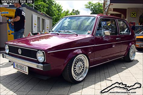 volkswagen caribe tuned purple mk1 vw golf on bbs split wheels click for