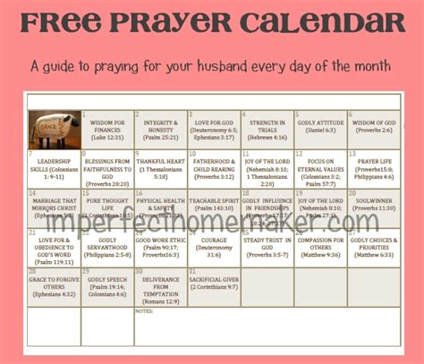 prayer calendar template printable prayer calendar calendar template 2016
