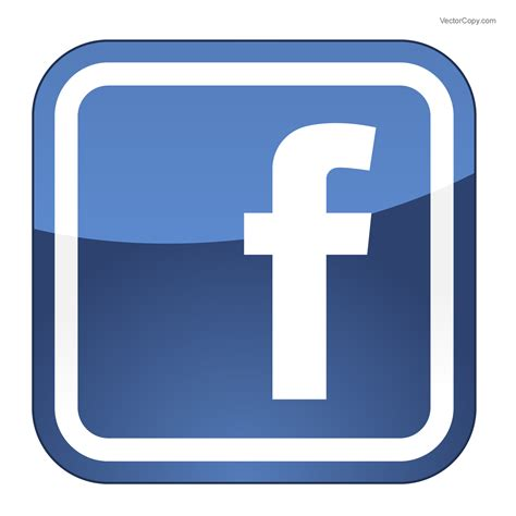 fb icon vector facebook icon logo free vector eps by vectorcopy