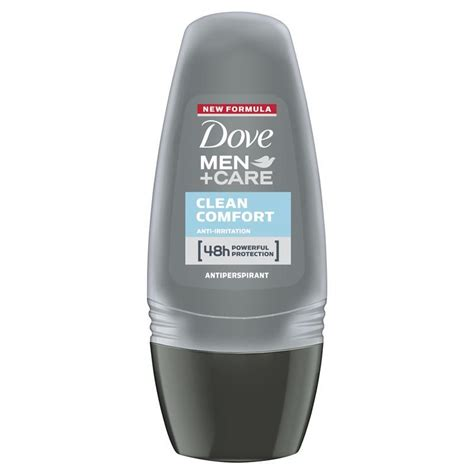 dove men clean comfort deodorant buy dove men care deodorant roll on clean comfort 50ml