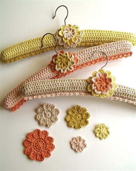 yarn hangers pattern crochet covered hanger set pattern by linda permann