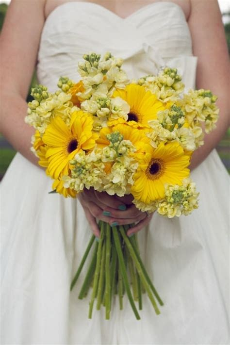 Wedding Bouquet Yellow by Picture Of Yellow Wedding Bouquets