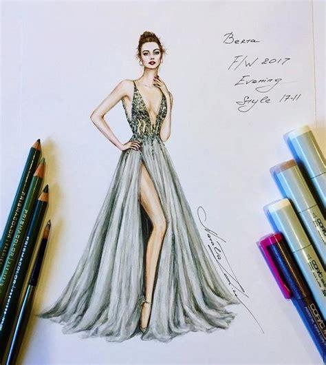 fashion illustrations  natalia zorin liu art  design