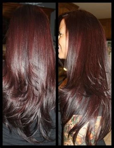 cherry coke hair color on african american women 306 best images about hairstyles i m liking on pinterest
