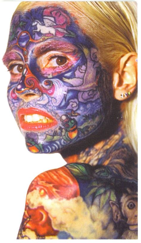 woman covered in tattoos gnuse commonly known by the nickname the