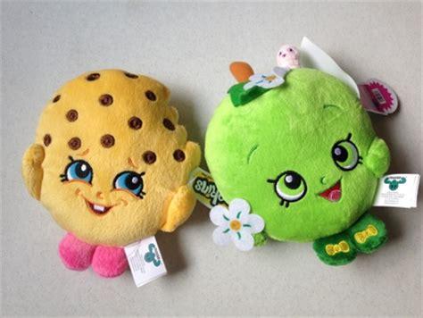 Boneka Plush Shopkins Original free shopkins 6 quot kooky cookie apple blossom plush soft stuffed animals new nwts