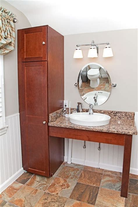 Handicap Accessible Bathroom Vanities Handicap Bathroom Vanities Roll Vanity Contractor In Michgian Rustic Lodge Log And Timber