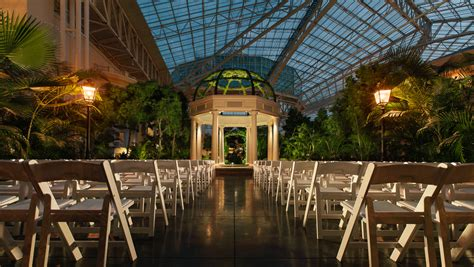 gaylord opryland resort wedding ceremony reception