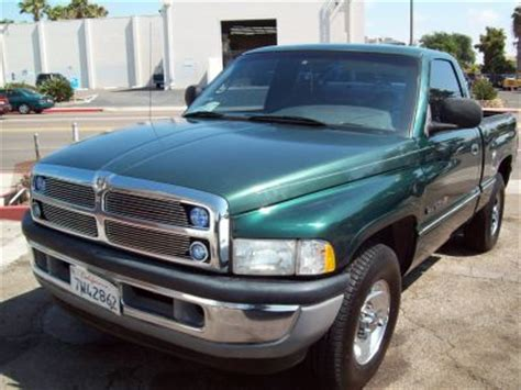 2001 used dodge ram 1500 truck color green for sale in san