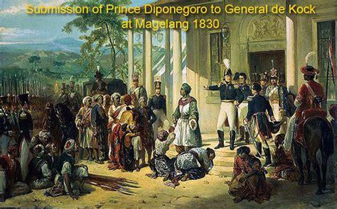 biography of diponegoro diponegoro war