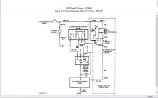 i need a wiring schematic for the blower motor on a 1995 ford