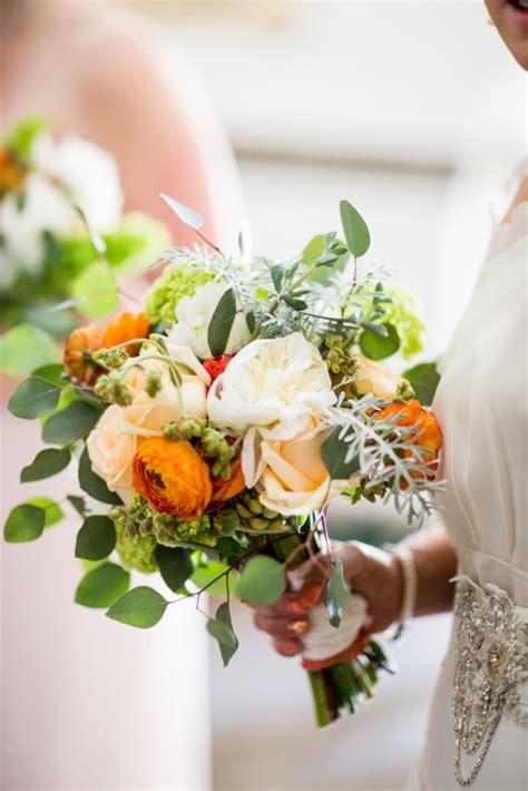 peonies and orange blossoms designing santa barbara wedding floral terra malia designs
