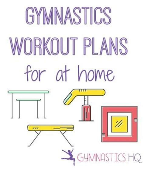 25 best ideas about gymnastics at home on