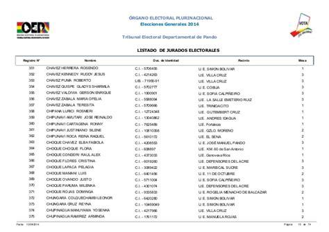 lista de jurados referendum de bolivia elecciones en bolivia 2016 de jurado apexwallpapers com