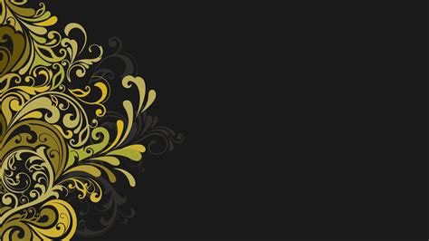 vector graphics design background hd floral texture grey background vector flowers wallpaper