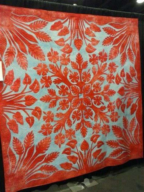 Hawaiian Patchwork Quilt - 17 best ideas about hawaiian quilts on
