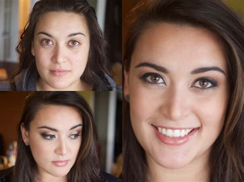 before and after before after makeup modern makeup