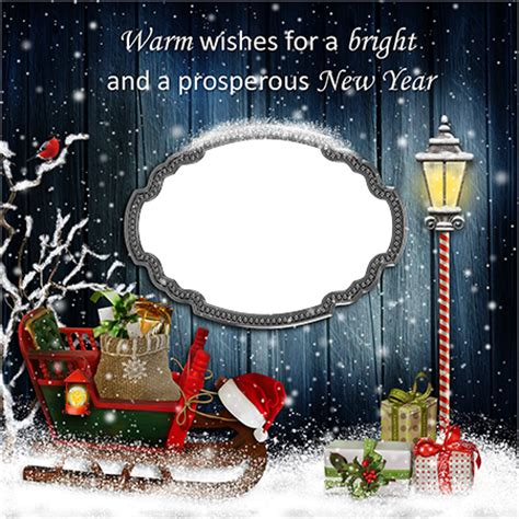 new year photo frame editor photo frames warm wishes for a new year