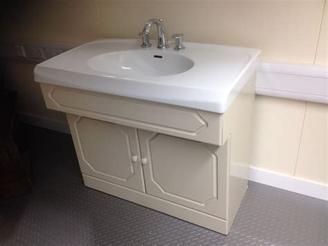 Wash Basin Vanity Unit by Second Vanity Unit Complete With Selles Sink Wash