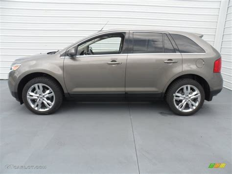 mineral gray metallic 2013 ford edge limited exterior