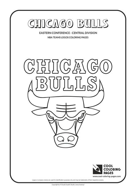 Chicago Bulls Logo Coloring Page Coloring Pages Chicago Bulls Coloring Pages