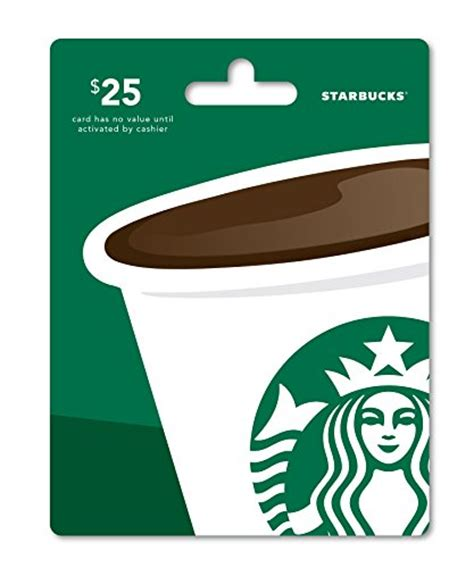 Gift Card Starbucks - starbucks gift card 25 top gift guides