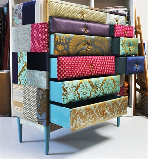 Patchwork Dresser - now this is really interesting it would be the focal item