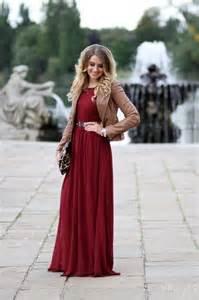 how to wear long dresses inspiration ideas fashiongum com