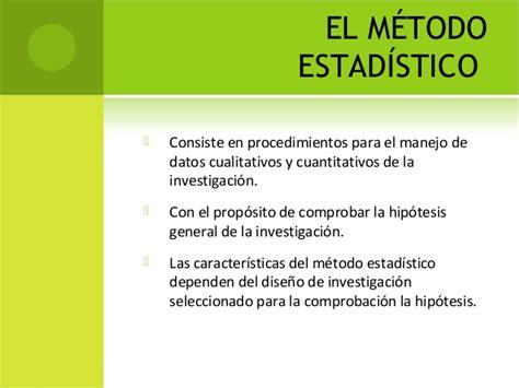 estadstica para la investigacin metodo cientifico y estadistico 2013