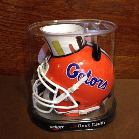 florida gators desk accessories free nib uf florida gator mini helmet desk caddy