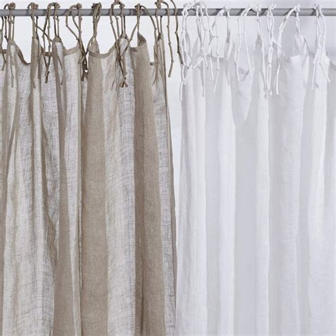 linnen curtains 1000 ideas about white linen curtains on pinterest