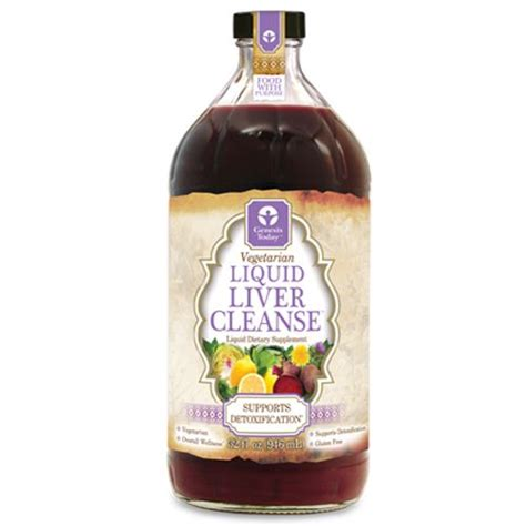 Liquid Liver Detox by Genesis Today Liquid Liver Cleanse 32 Oz