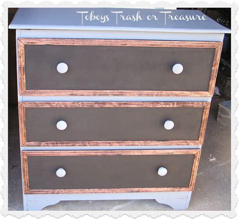 Chalkboard Dresser by Tobey S Trash Or Treasure Chalkboard Dresser