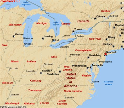 map of cities in northeast united states eastern us map cities www imgarcade image