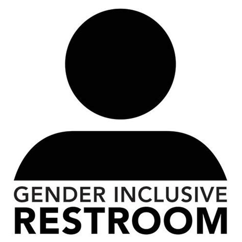 Gender Neutral Bathrooms - gender inclusive restroom concept 2 gender neutral bathrooms no