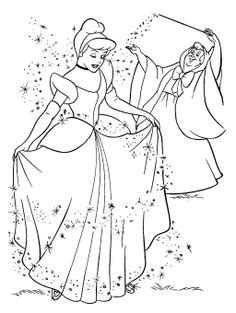 cinderella birds coloring pages cinderella mice and bird coloring page avery pinterest