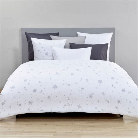 snowflake bedding christian fischbacher snowflake bedding aiko luxury linens