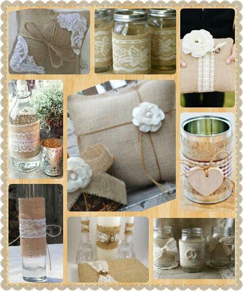 Decorating Ideas With Burlap Burlap Wedding Decor 183 Diy 183 Wedding Ideas