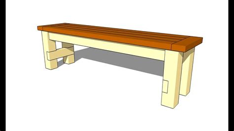 build  bench seat youtube