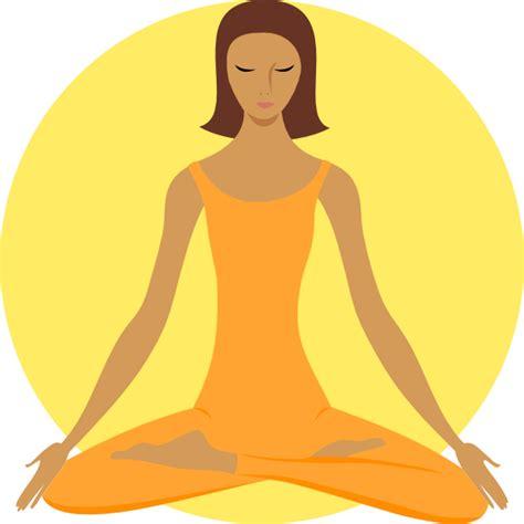yoga zen clip art free woman in yoga position clip art at clker com vector clip