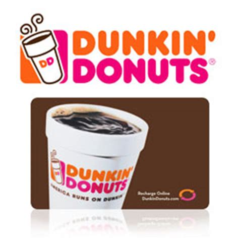 Dd Gift Card Balance - buy dunkin donuts gift cards at giftcertificates com