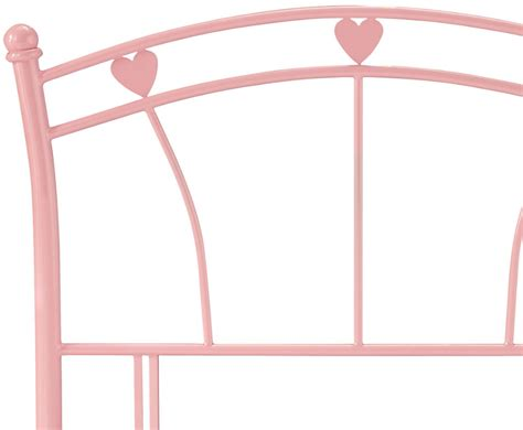 Pink Metal Headboard by Jemima Pink Childrens Metal Headboard Just Headboards