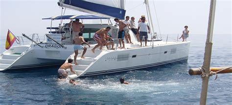 catamaran cruise marbella boat charters and catamaran trips in marbella puerto