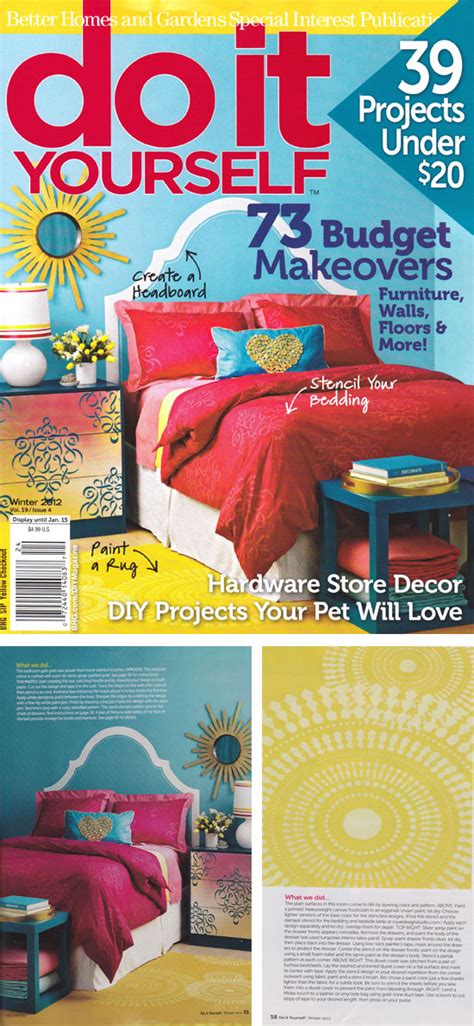 do it yourself magazine cutting edge stencils in diy magazine cutting edge stencils