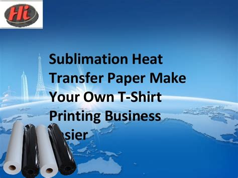How To Make Heat Transfer Paper At Home - sublimation heat transfer paper make your own t shirt