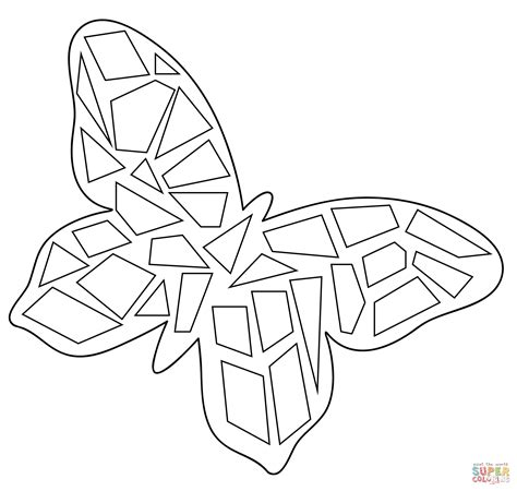 mosaic coloring sheets to print coloring pages
