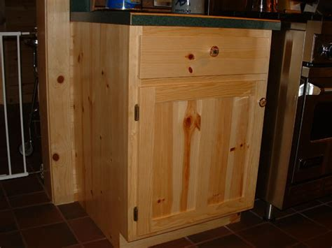 knotty pine kitchen cabinet doors timber country cabinetry flat panel door style